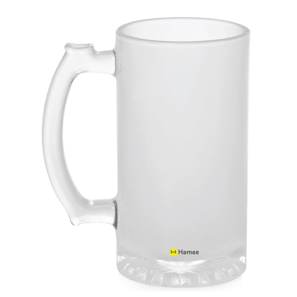 Frosted Glass Beer Mug- Plain-Hamee India