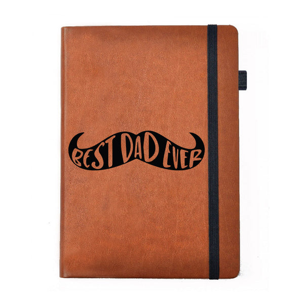 Hamee - Best Dad ever - Tan Brown Leather Planner / Organizer