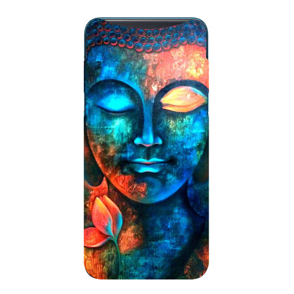 Serene Buddha Oppo Find X Back Cover-Hamee India
