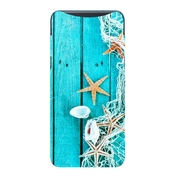Sea Side Oppo Find X Back Cover-Hamee India
