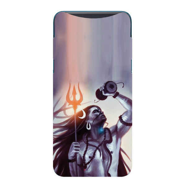 Purple Shiva Oppo Find X Back Cover-Hamee India