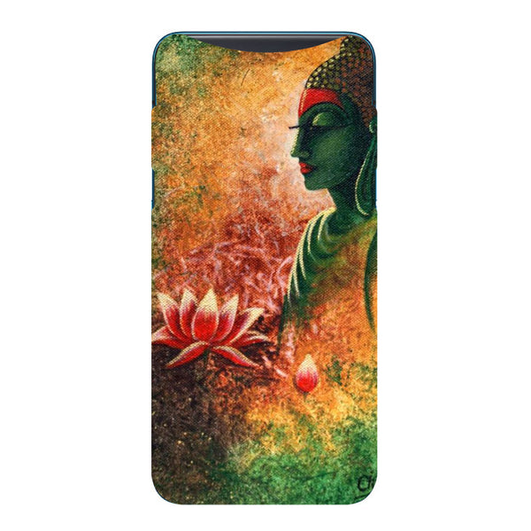 Side Buddha Oppo Find X Back Cover-Hamee India