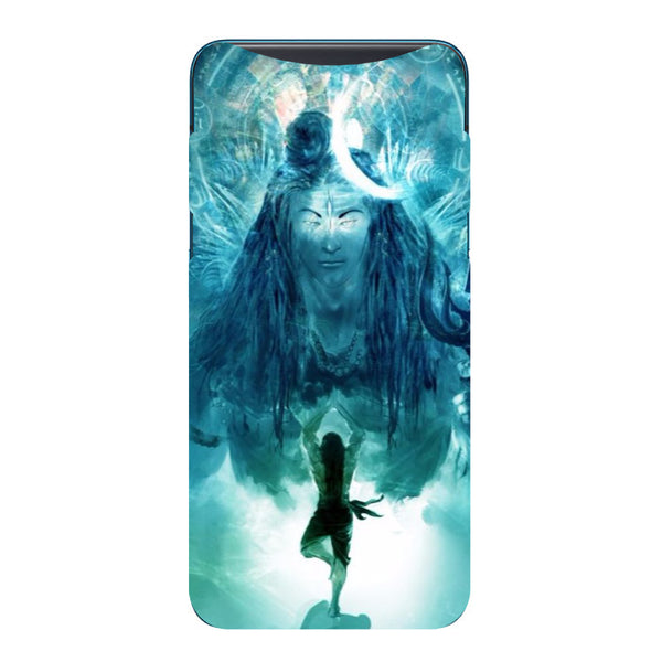 Standing Shiva Oppo Find X Back Cover-Hamee India