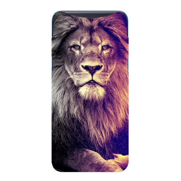 Lion Oppo Find X Back Cover-Hamee India