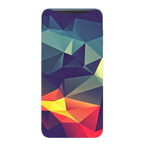 Abstract Oppo Find X Back Cover-Hamee India