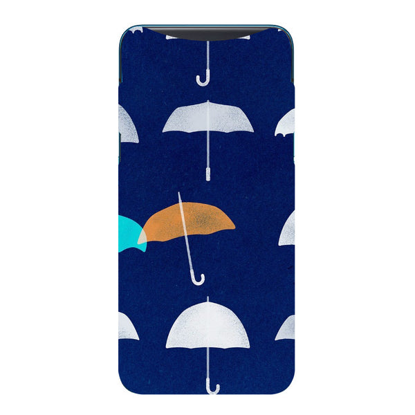 Umbrellas Oppo Find X Back Cover-Hamee India