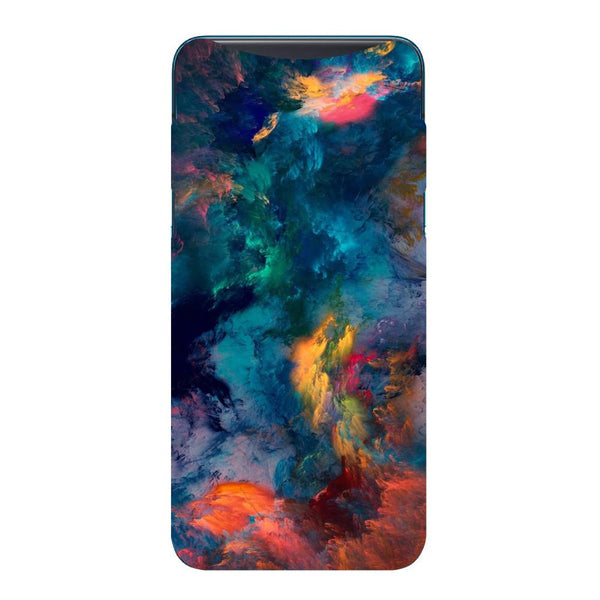 Abstract Fumes Oppo Find X Back Cover-Hamee India