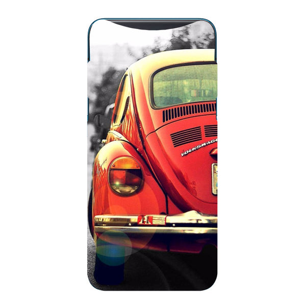 Vintage Car Oppo Find X Back Cover-Hamee India