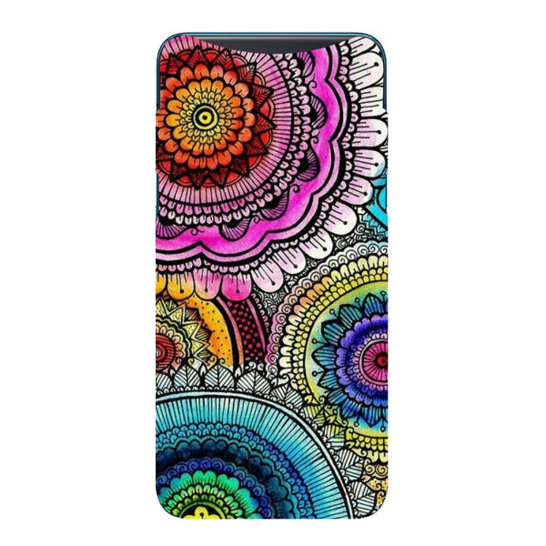 Ethnic Splash Oppo Find X Back Cover-Hamee India
