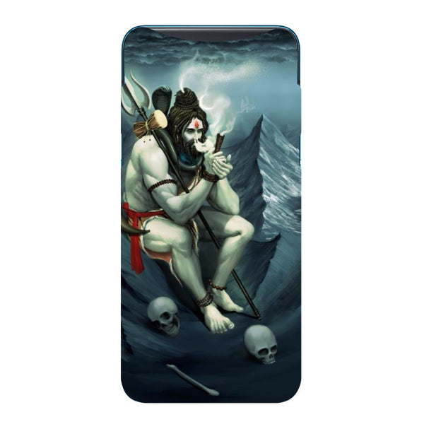 Shiva Abode Oppo Find X Back Cover-Hamee India