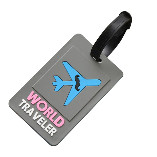 World Traveler - Silicon Luggage Tag-Hamee India