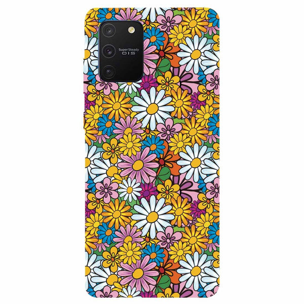 Colourful Flowers Samsung Galaxy S10 Lite Back Cover
