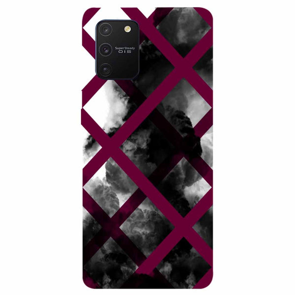 Black Mist Samsung Galaxy S10 Lite Back Cover