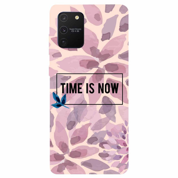Time Is Now Samsung Galaxy S10 Lite Back Cover
