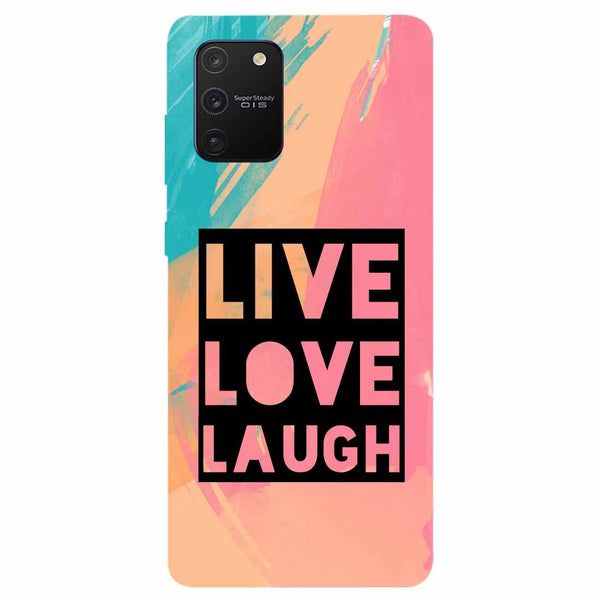 Live Love Samsung Galaxy S10 Lite Back Cover