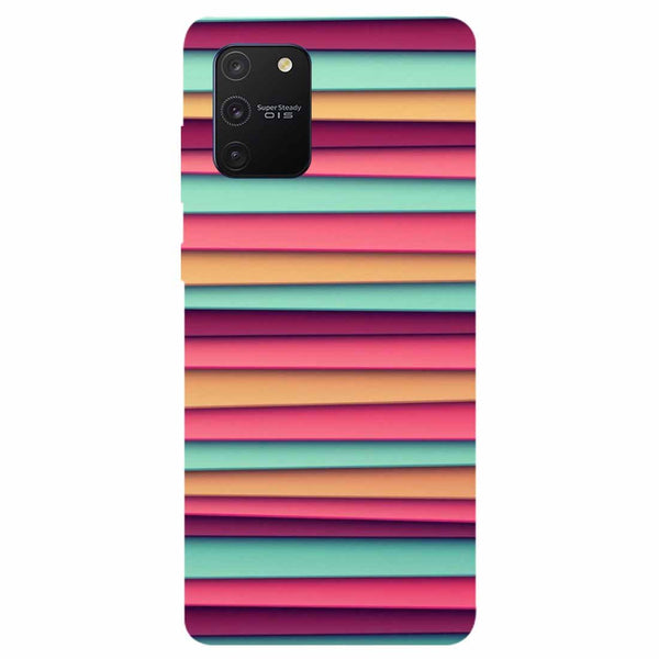 Colourful Stripes Samsung Galaxy S10 Lite Back Cover