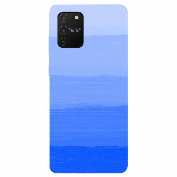 Blue Samsung Galaxy S10 Lite Back Cover
