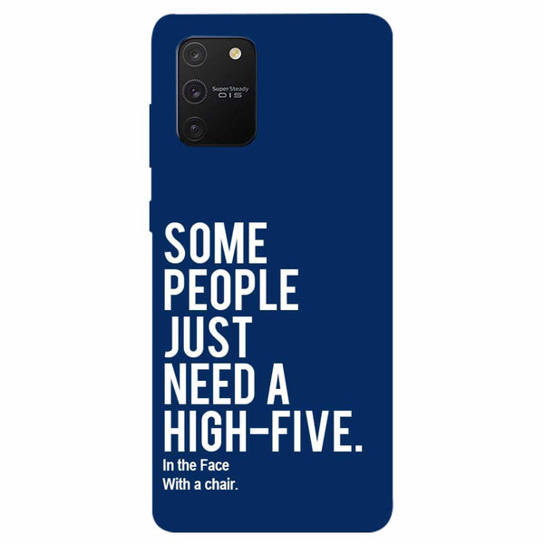 High Five Samsung Galaxy S10 Lite Back Cover