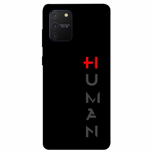 Human Samsung Galaxy S10 Lite Back Cover