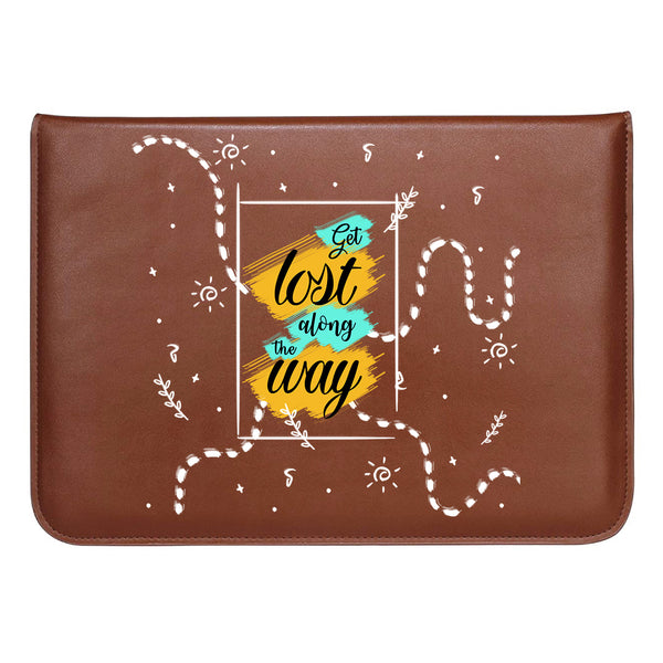 "Get Lost MacBook Sleeve 13.3""-Hamee India"