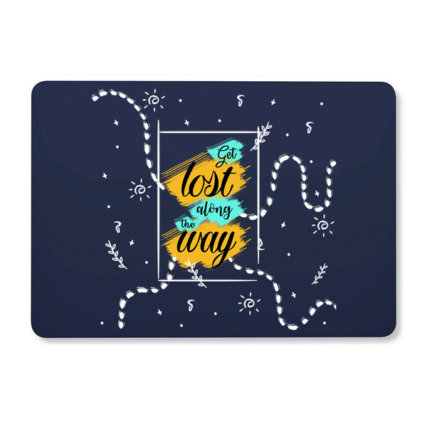 "Get Lost Navy Blue MacBook Air 13"" Retina (2018) Cover-Hamee India"