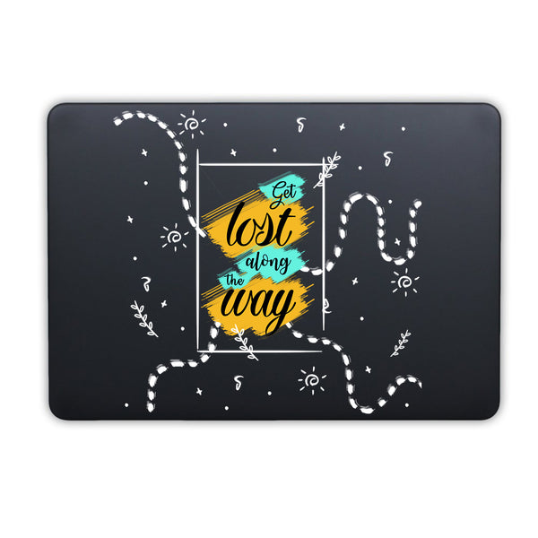 "Get Lost MacBook Air 13"" Retina (2018) Cover-Hamee India"