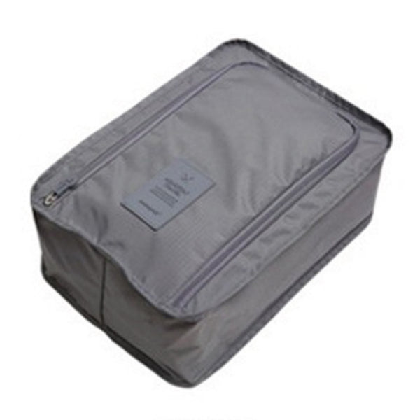 Travel Shoe Bag - Gray-Hamee India