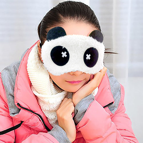 Plush Eye Mask - Dizzy-Hamee India