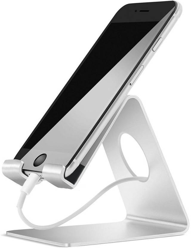 55055660ba4c37 Metallic Universal SmartPhone Charging Stand - Silver | Hamee India