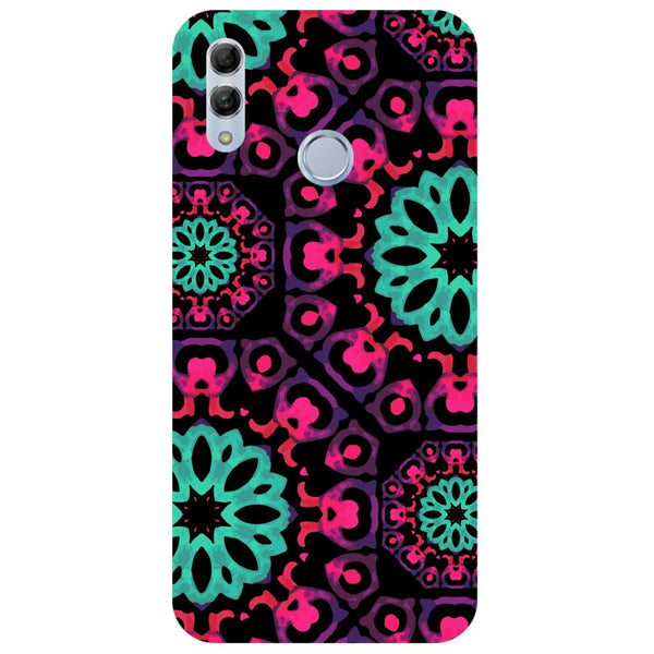 Mandala Print Honor 10 Lite Back Cover-Hamee India