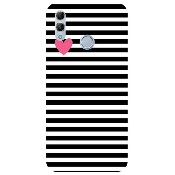 Stripes Honor 10 Lite Back Cover-Hamee India