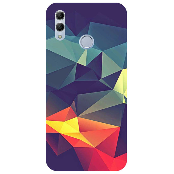 Geometric Honor 10 Lite Back Cover-Hamee India