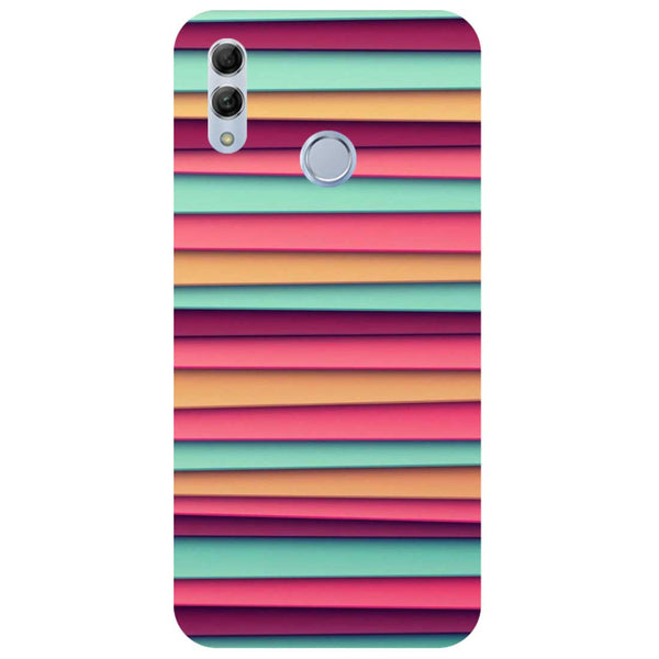 Colourful Stripes Honor 10 Lite Back Cover-Hamee India