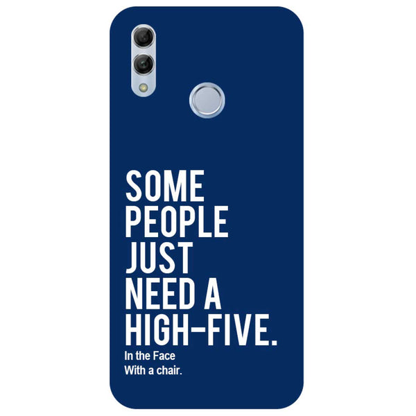 High Five Honor 10 Lite Back Cover-Hamee India