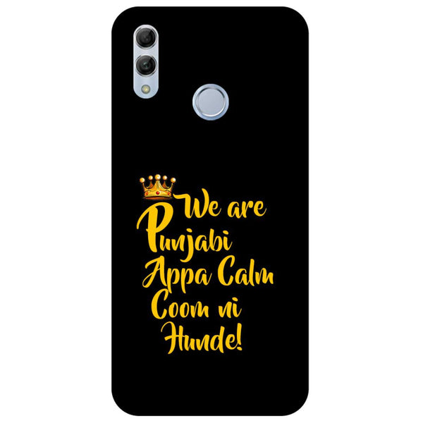 Punjabi Honor 10 Lite Back Cover-Hamee India