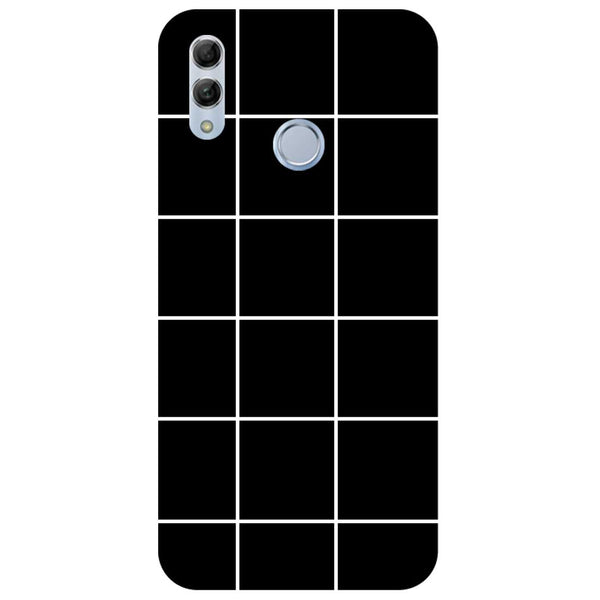 Checks Honor 10 Lite Back Cover-Hamee India