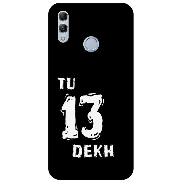 Tu Honor 10 Lite Back Cover-Hamee India