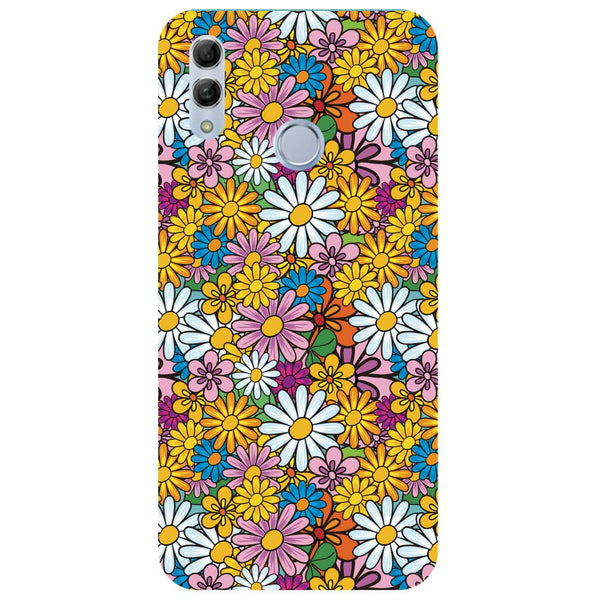Colourful Flowers Honor 10 Lite Back Cover-Hamee India