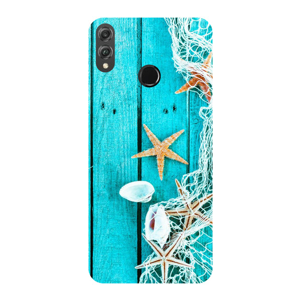 Sea Side Honor 8X Back Cover-Hamee India