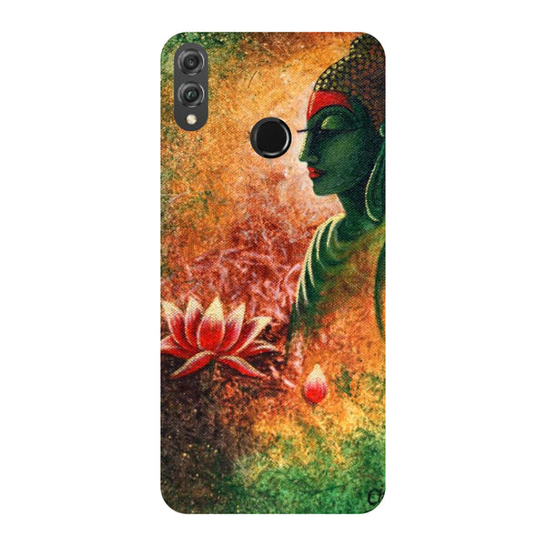 Side Buddha Honor 8X Back Cover-Hamee India