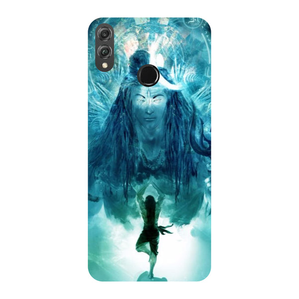Standing Shiva Honor 8X Back Cover-Hamee India