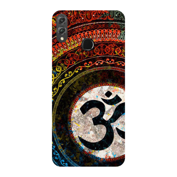 Om Mandala Honor 8X Back Cover-Hamee India