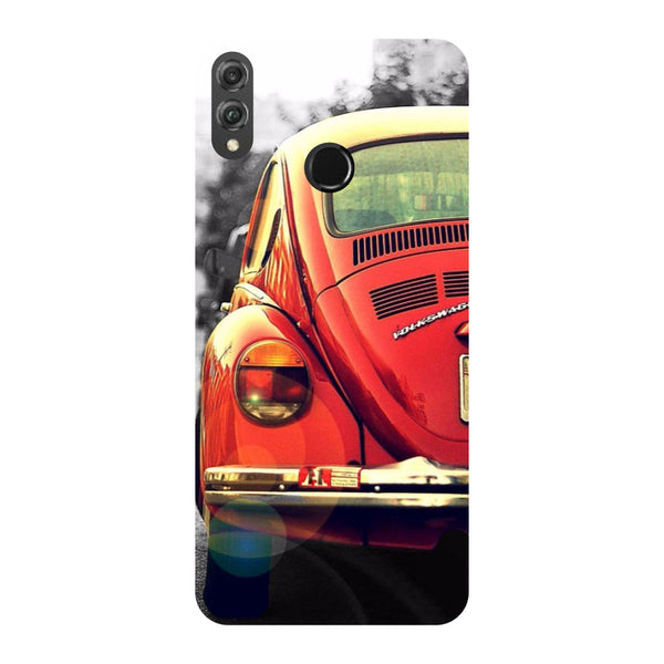 Vintage Car Honor 8X Back Cover-Hamee India