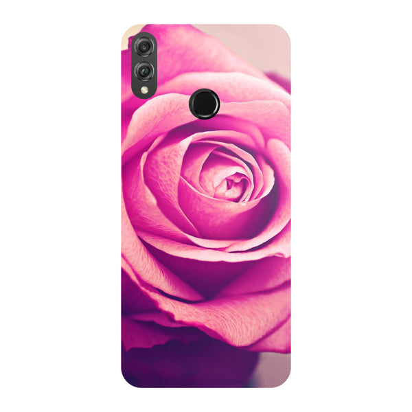 Pink Rose Honor 8X Back Cover-Hamee India