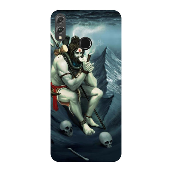 Shiva Abode Honor 8X Back Cover-Hamee India
