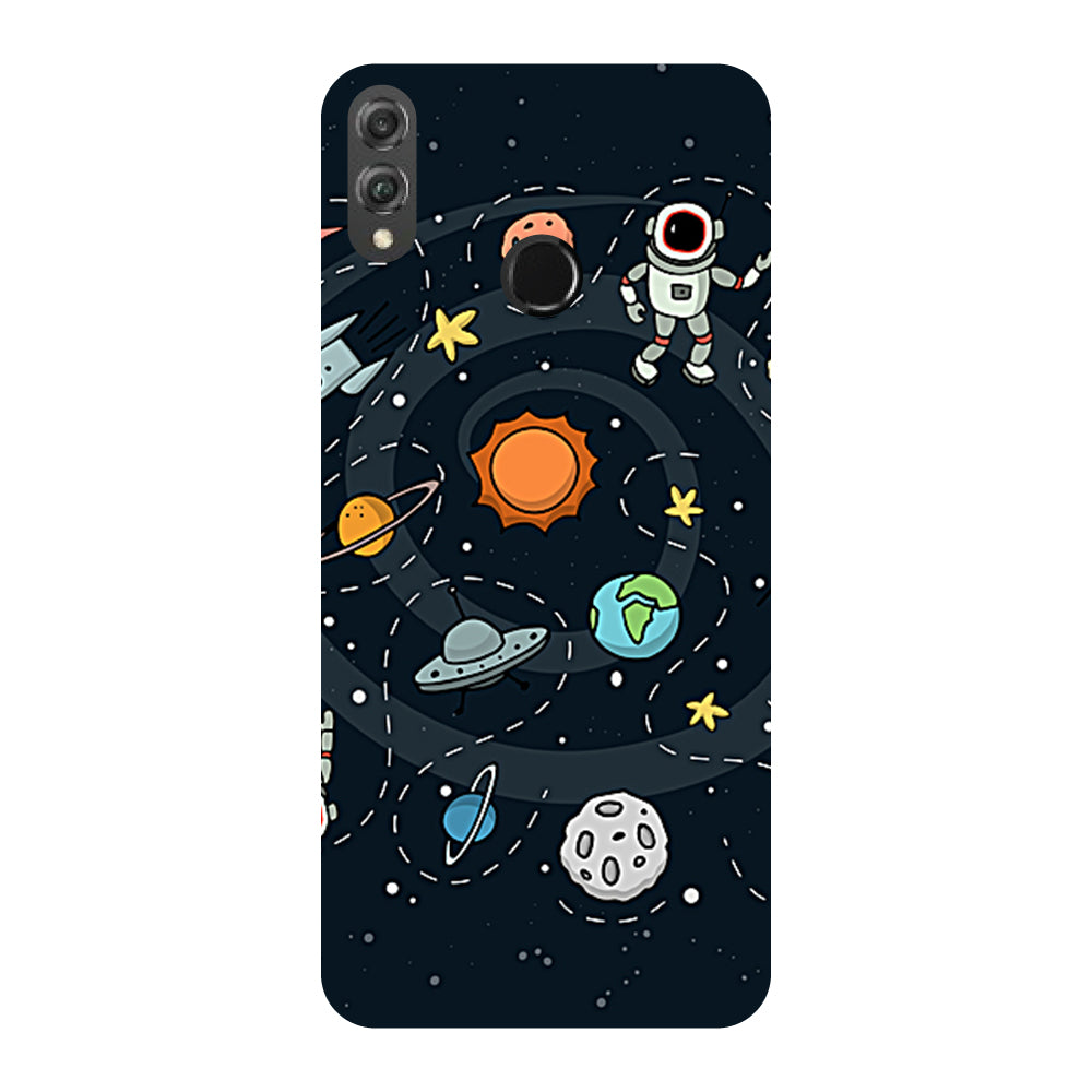 Space Honor 8X Back Cover