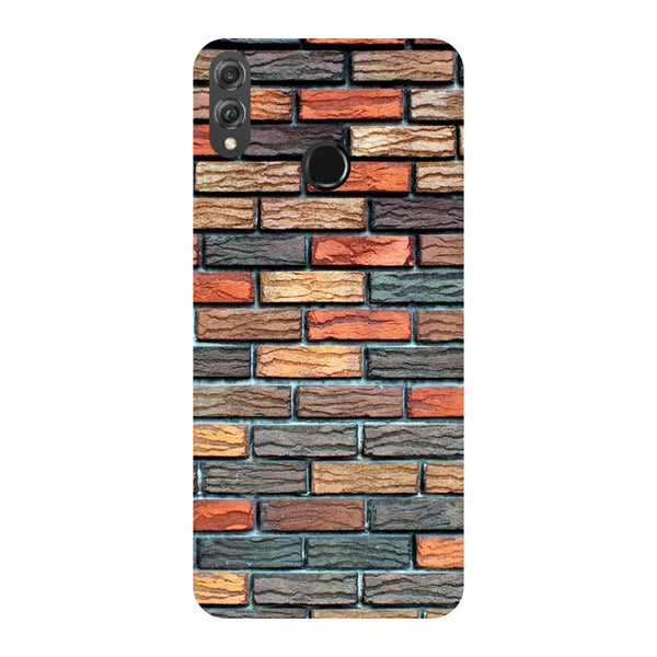 Brick Wall Honor 8X Back Cover-Hamee India