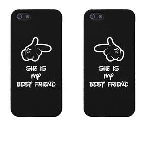 "Hamee Back Cover for VIVO V3 Max "" My Best Friend is Crazy Special Pack of Two Combo 18 "" - Hamee India"