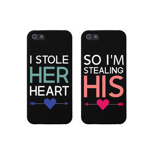 "Hamee Back Cover for iPhone 5 / 5S / SE / 5SE "" Couple Fantasy Special Pack of Two Combo 1 "" - Hamee India"