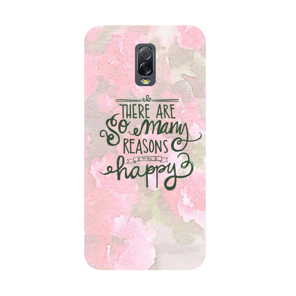 Be Happy- Printed Hard Back Case Cover for Samsung Galaxy J7 Plus-Hamee India